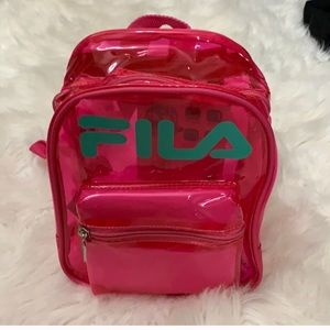 FILA Pink Zoey Backpack